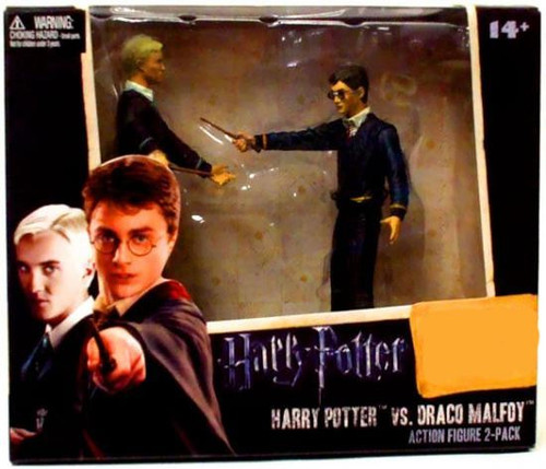 NECA The Half Blood Prince Harry Potter & Draco Malfoy Exclusive Action Figure 2-Pack