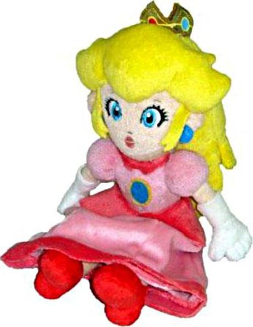 Super Mario Bros Princess Peach 8-Inch Plush