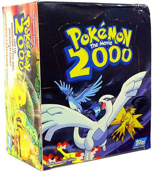 Pokemon The Movie 2000 Trading Card Box [36 Packs]