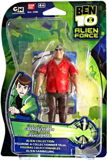 Ben 10 Alien Force Alien Collection Grandpa Max Action Figure