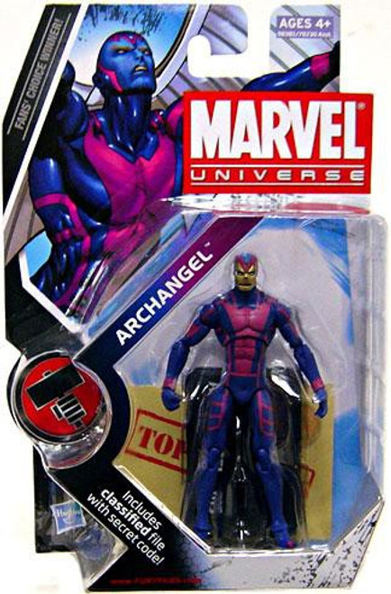 Marvel Universe Series 8 Archangel Action Figure #15 [Gold Face]
