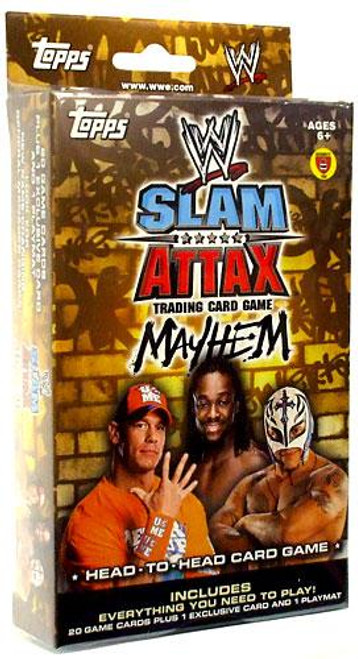 WWE Wrestling Slam Attax Mayhem Series 2 Exclusive Starter Deck
