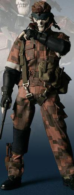 Metal Gear Solid 3 Snake Eater Real Action Heroes Snake Action Figure [Digital Camo]