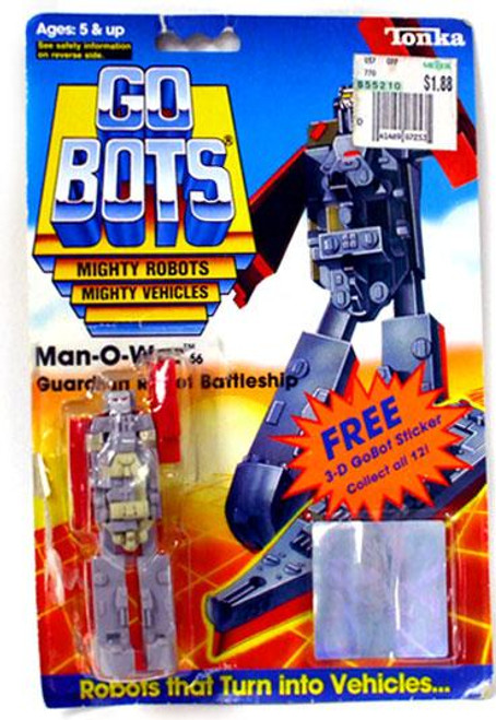 Tonka Go Bots Vintage Man-O-War Action Figure [1985]