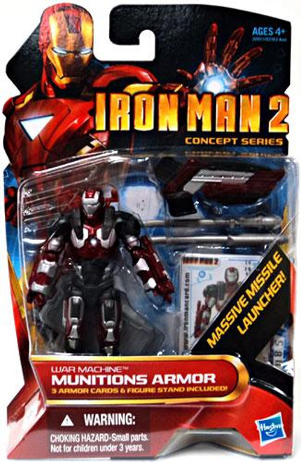 Iron Man 2 Concept Series Munitions Armor War Machine Action Figure #19