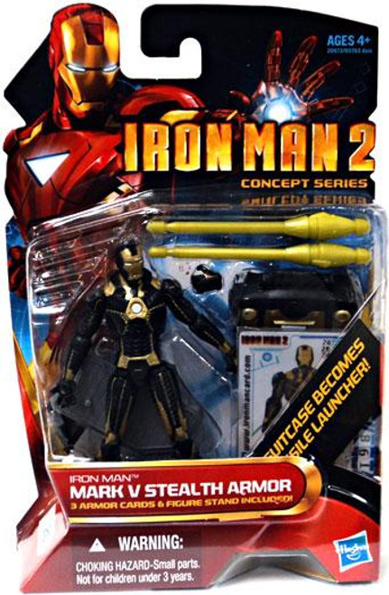 Iron Man 2 Concept Series Mark V Stealth Armor Iron Man Action Figure #20