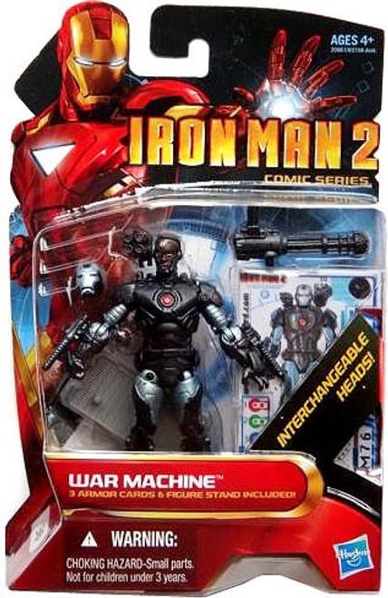 Iron Man 2 Comic Series War Machine Action Figure #38 [Cyborg]