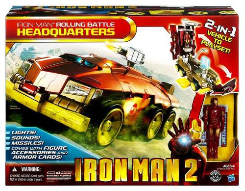 Iron Man 2 Iron Man Rolling Battle Headquarters