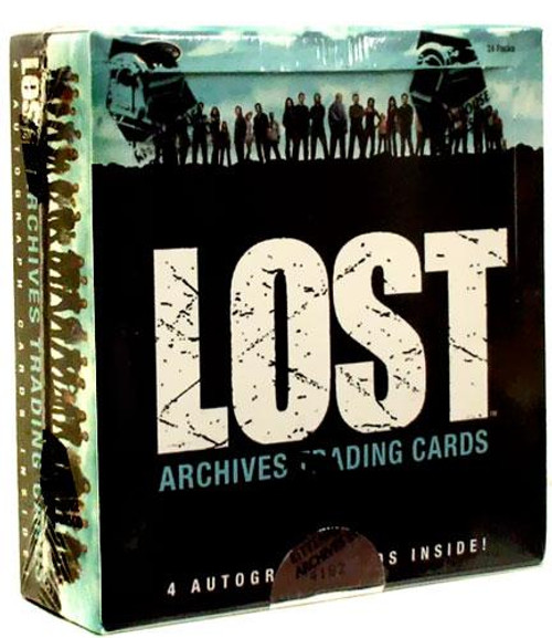 Lost Archives Trading Card Box