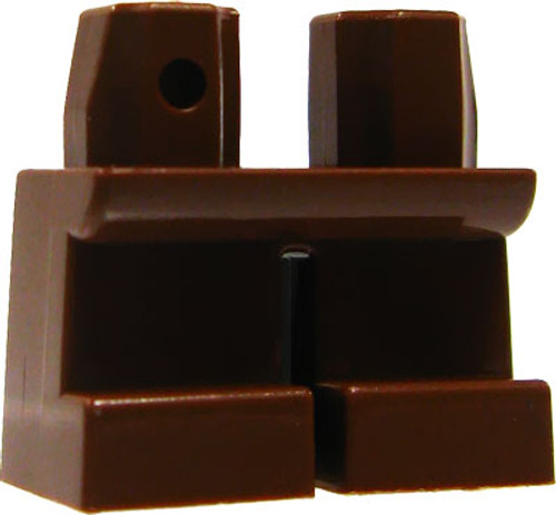 LEGO Minifigure Parts Short Brown Legs Loose Legs [Loose]