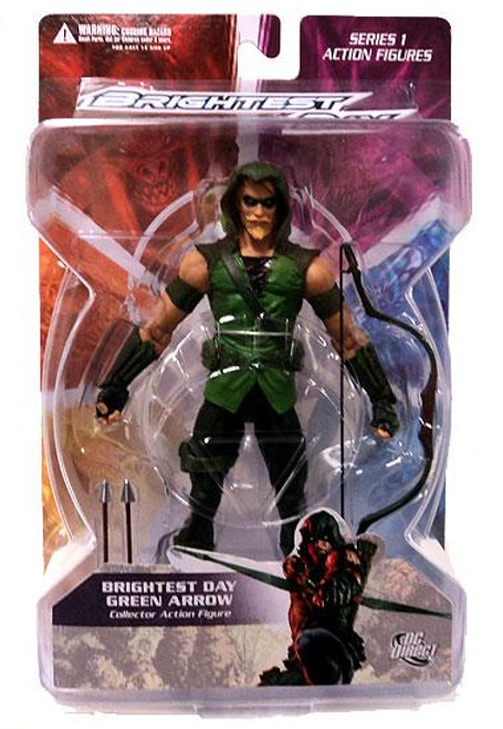 DC Green Lantern Brightest Day Series 1 Brightest Day Green Arrow Action Figure