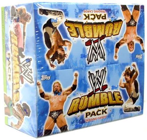 WWE Wrestling WWE Rumble Pack Booster Box