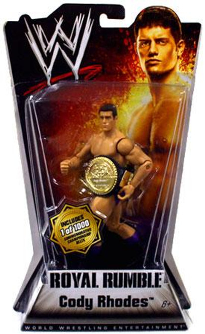 WWE Wrestling Royal Rumble Series 1 Cody Rhodes Action Figure [With Belt]