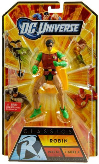 DC Universe Batman Classics Wave 16 Robin Action Figure #4 [Dick Grayson]