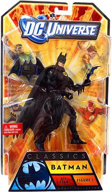 DC Universe All-Stars Classics Batman Action Figure #1 [Black Costume]