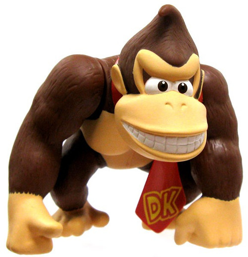 Super Mario Bros Donkey Kong 5-Inch PVC Figure