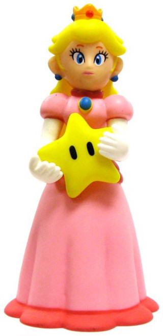 Super Mario Bros Princess Peach 5-Inch PVC Figure