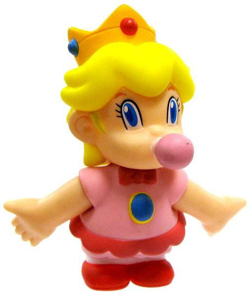 Super Mario Bros Princess Peach 3.5-Inch PVC Figure [Baby]