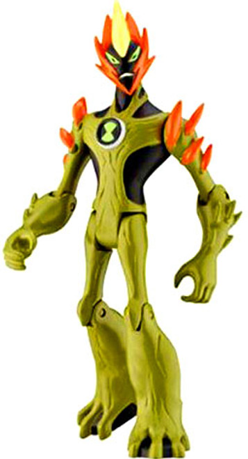 Ben 10 Swampfire Action Figure [Arms Down Loose]
