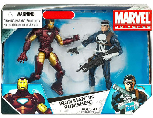 Marvel Universe Iron Man vs. Punisher Exclusive Action Figure 2-Pack