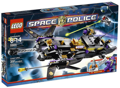 LEGO Space Police Lunar Limo Set #5984