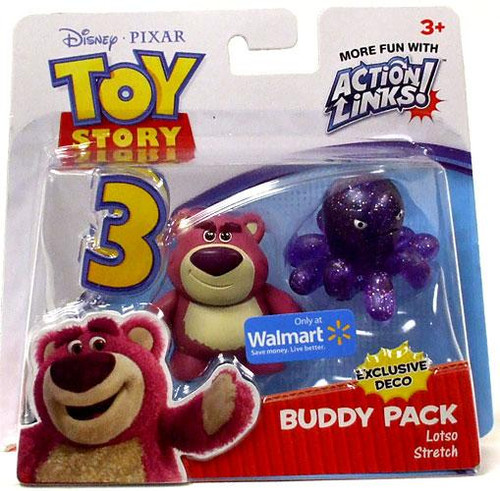 Toy Story 3 Action Links Buddy Pack Lotso & Stretch Exclusive Mini Figure 2-Pack [Exclusive Deco]