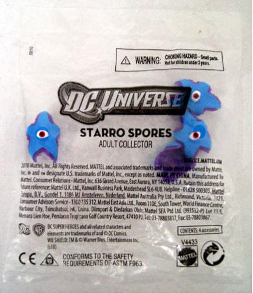 DC JLA Bag of 4 Mini Starro Spores Exclusive