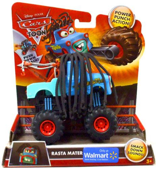 Disney Cars Cars Toon Monster Trucks Rasta Mater Exclusive Plastic Car