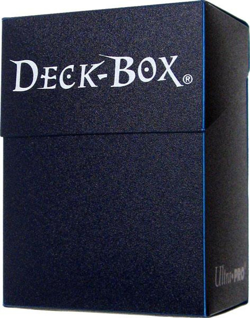 Ultra Pro Card Supplies Midnight Blue Deck Box