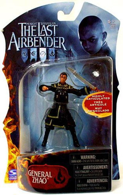 Avatar the Last Airbender General Zhao Action Figure