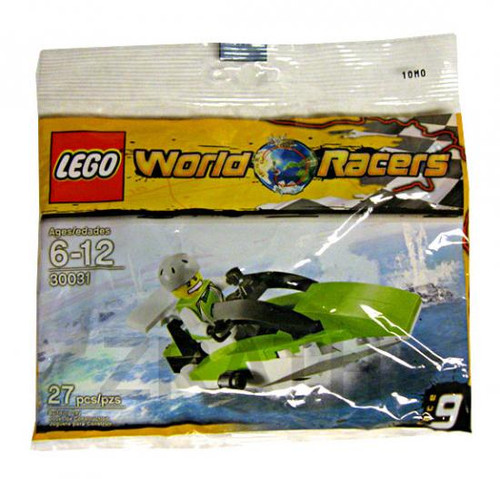 LEGO World Racers Powerboat Mini Set #30031 [Bagged]