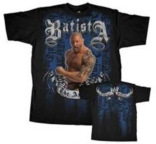 WWE Wrestling Batista T-Shirt WWY134 [Youth L]