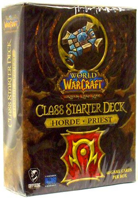 World of Warcraft Trading Card Game Class Starter Deck Priest Starter Deck [Horde]