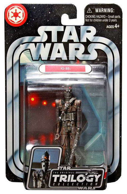 Star Wars Empire Strikes Back Original Trilogy Collection 2004 IG-88 Action Figure #27