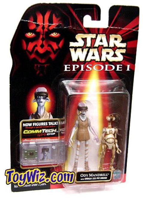 Star Wars The Phantom Menace Episode I Basic 1999 Ody Mandrell & OTOGA 222 Pit Droid Action Figure 2-Pack
