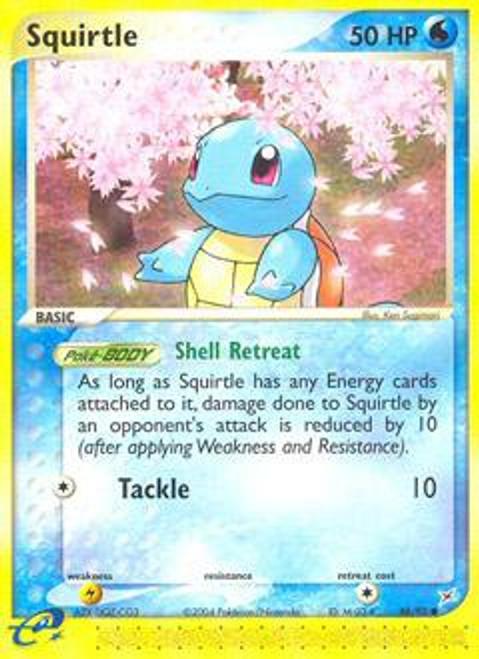 Pokemon EX Team Magma vs Team Aqua Common Squirtle #46