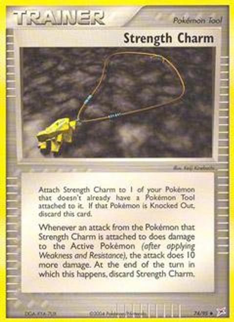Pokemon EX Team Magma vs Team Aqua Uncommon Strength Charm #74