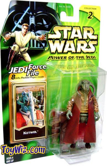 Star Wars The Phantom Menace Power of the Jedi 2002 Collection 2 Ketwol Action Figure