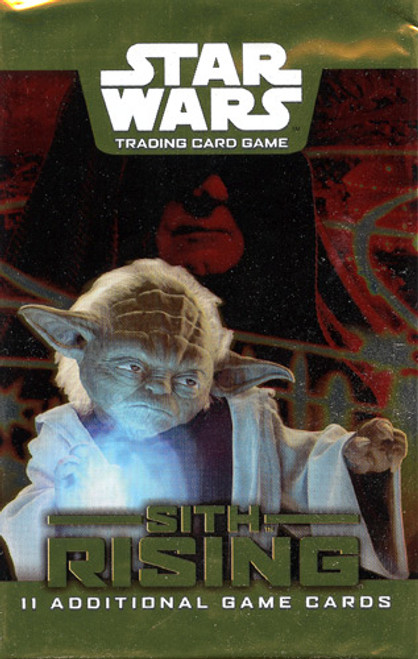 Star Wars Trading Card Game Sith Rising Booster Pack