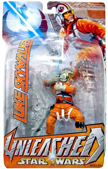 Star Wars The Empire Strikes Back Unleashed Series 7 Luke Skywalker Action Figure [-Wing Pilot]