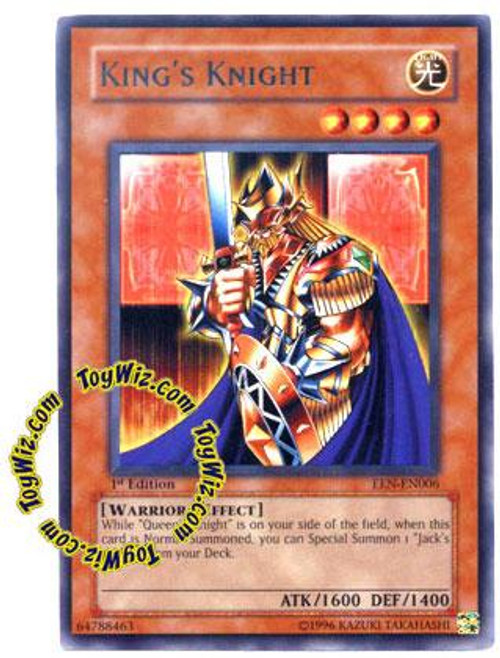 YuGiOh Elemental Energy Rare King's Knight EEN-EN006