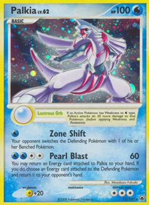 Pokemon Diamond & Pearl Majestic Dawn Rare Palkia #11