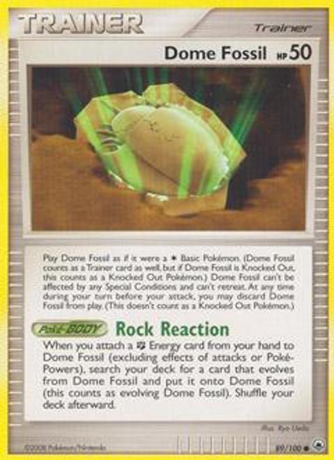 Pokemon Diamond & Pearl Majestic Dawn Common Dome Fossil #89