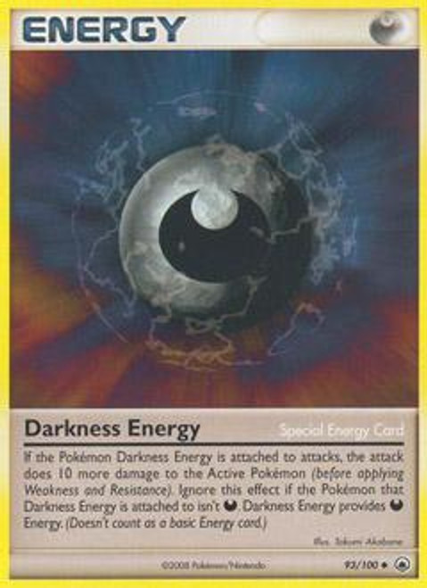 Pokemon Diamond & Pearl Majestic Dawn Uncommon Darkness Energy (Special) #93