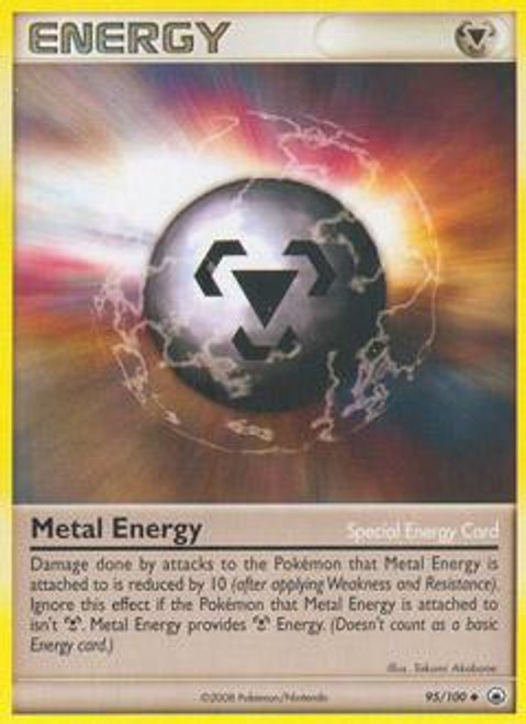 Pokemon Diamond & Pearl Majestic Dawn Uncommon Metal Energy (Special) #95