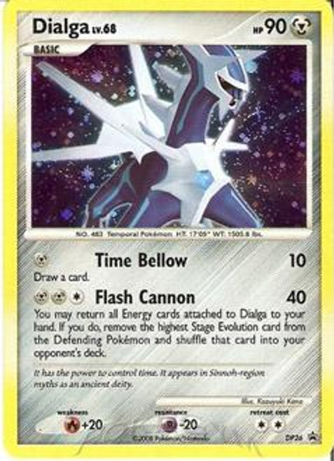 Pokemon Diamond & Pearl Promo Rare Holo Dialga DP26
