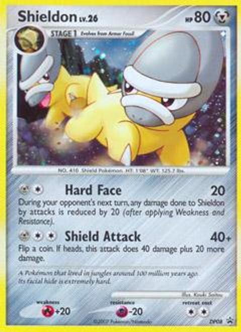 Pokemon Diamond & Pearl Promo Rare Holo Shieldon DP08