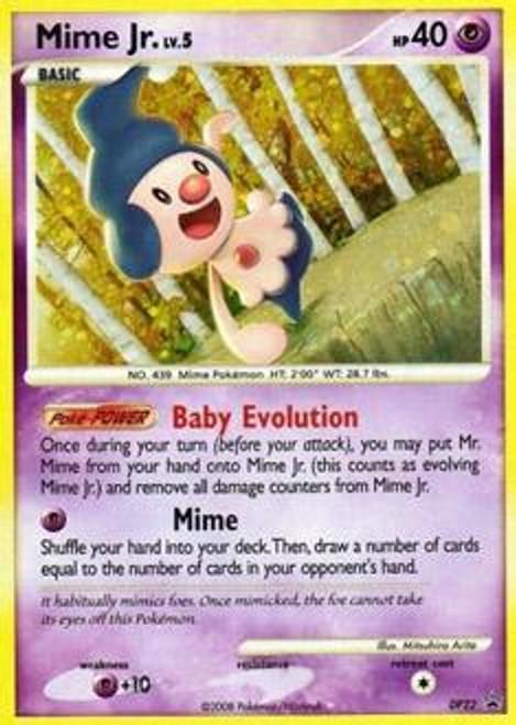 Pokemon Diamond & Pearl Promo Rare Holo Mime Jr. DP22