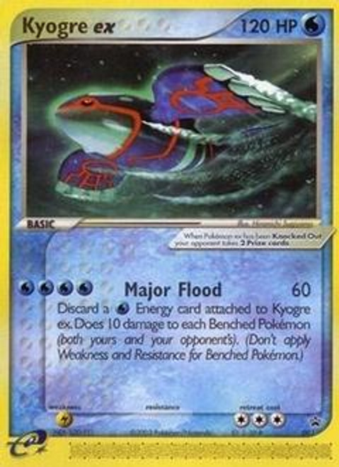 Pokemon Promo Cards Ultra Rare Kyogre-EX #1