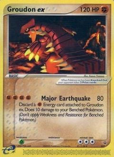 Pokemon Promo Cards Ultra Rare Groudon-EX #2